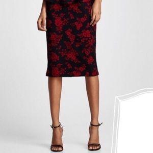 [NWT] ZARA Floral Pencil Skirt